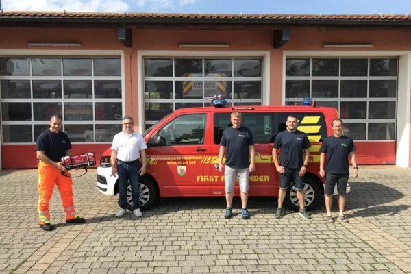 DEFIGARD Toch7 bei der freiwilligen Feuerwehr Waging am See